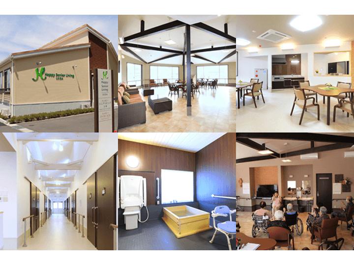 【ハッピーシニアリビング上田】上田市材木町にある介護付き有料老人ホームです。
