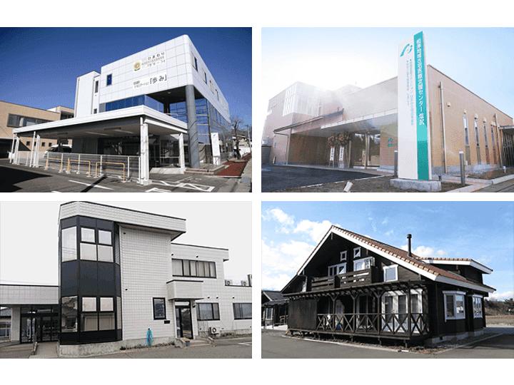 【地域在宅医療支援センター】居宅介護支援事業所は各地にあります。