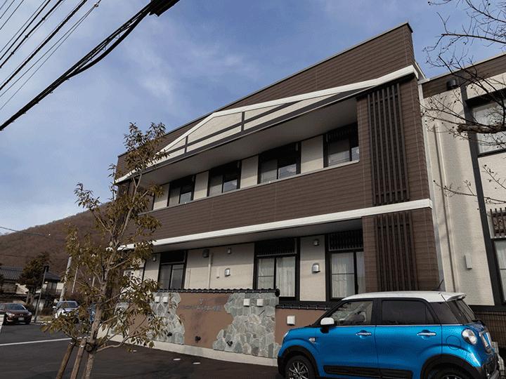 【シニアホームふれあい新橋】松本市島内にある住宅型有料老人ホームです。