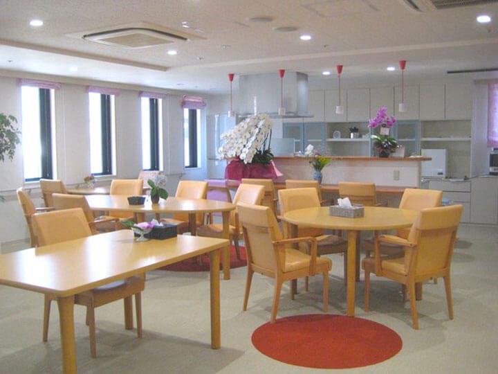 施設のご様子 2階食堂です。