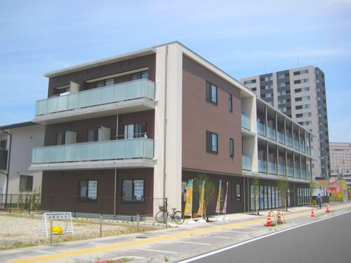 【ビーマイセルフ暖家】長野市栗田にあるサービス付高齢者向け住宅です。
