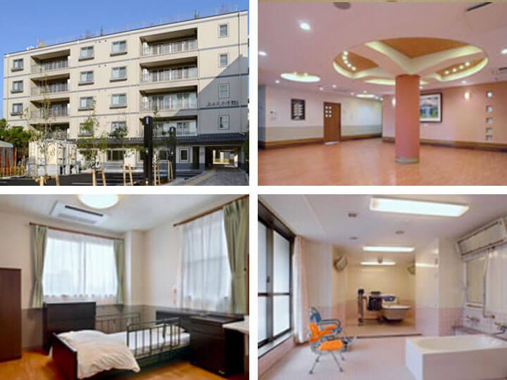 【上田大手門】上田市中央にある複合型老人福祉施設です。